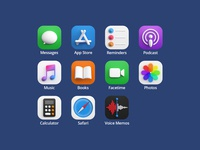 3d icons - Set photoshop vray 3dsmax render icon design big sur macos ios app icon 3d design webshocker