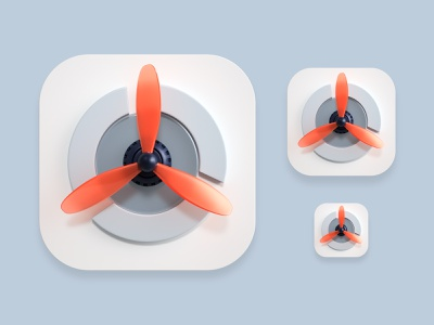 Propel icon app mobile icon design illustration branding website icon render 3d design webshocker