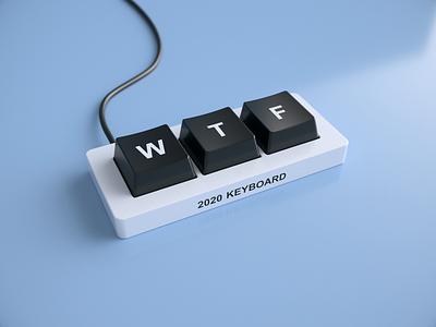 2020 keyboard 3dsmax vray render 2020 wtf keyboard ui animation 3d design webshocker