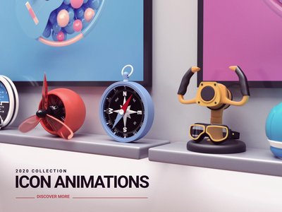 Icons app iconography c4d vray 3dsmax icondesign icon render 3d animation design webshocker
