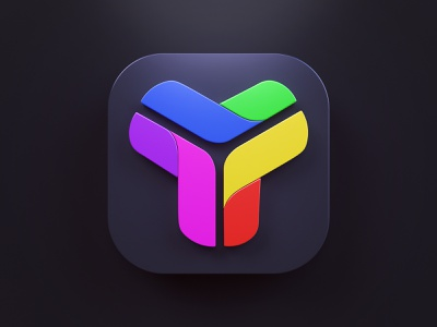 App icon big sur macos illustration branding render 3d ios app icon logo design webshocker