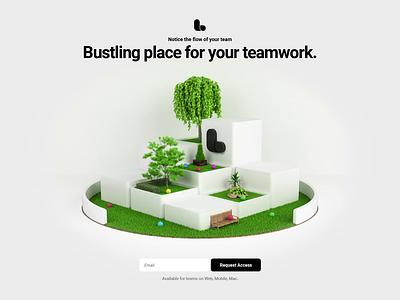 Lounge brand logo illustration design 3d render ux ui motion design website animation webshocker