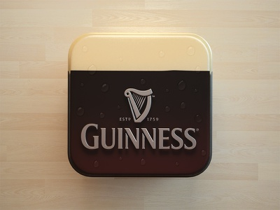 Guinness guinness icon webshocker beer design fun drink