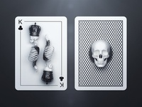 King of Clubs / Back