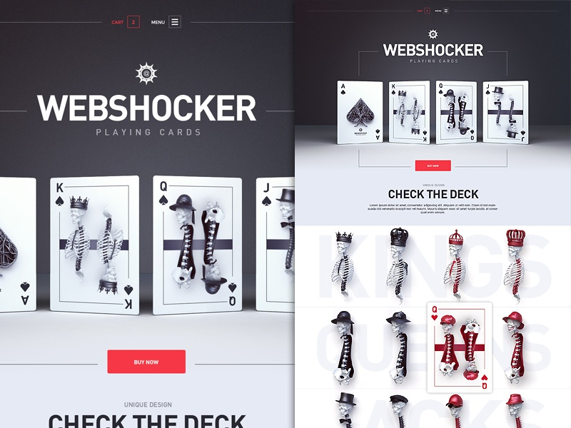 Webshocker playingcards
