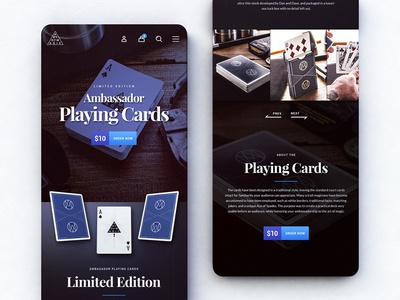 Ambassador Playing Cards - Mobile