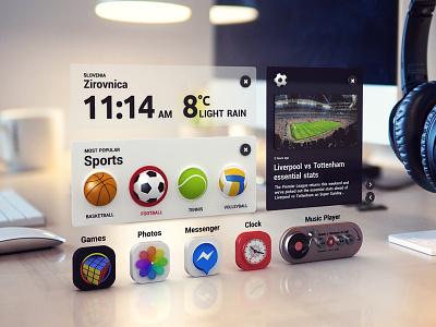 3d ui virtualreality augmentedreality vr ar render ui 3d design webshocker