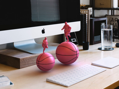 2x Dribbble Invite run ball loop fun dribbble invite render animation 3d design webshocker