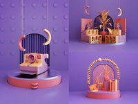 3d Compositions - Behance