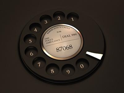 WIP - Dial webshocker 3d design phone dial app