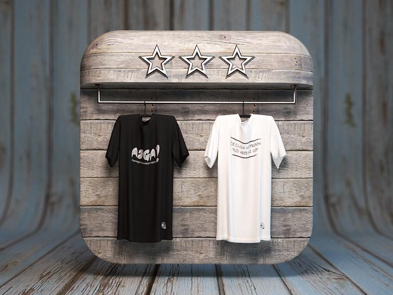 Mobile Shop Icon webshocker 3d tshirts ios web icon shop