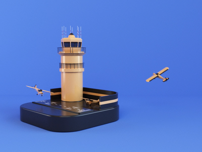 Planes 3dsmax vray runway loop planes website render animation 3d design webshocker