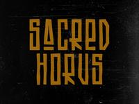 Logo Sacred Horus