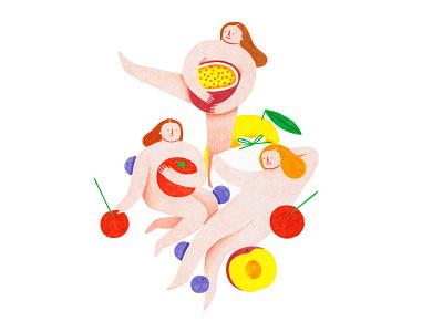Menu Designs coloredpencils fruit restaurant italy food menu illustration design illustration art