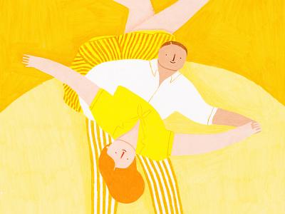 O Galeria Exhibition rocknroll twist exhibition porto dance coloredpencils illustration art illustration