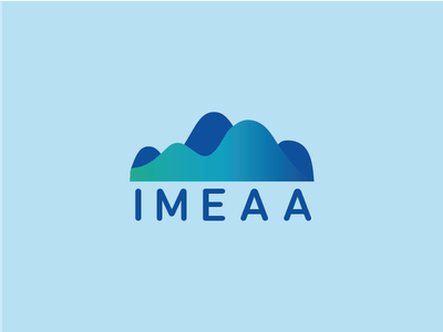 IMEAA Waves logo flow sea marine tide graph waves