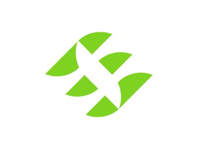 Ensave vector value startup sign corners rounded recruitment modern mark lucid logotype logo board job grids design colors branding blue