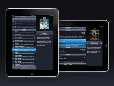 TV Forecast for iPad Progress