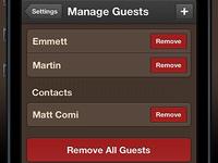Managing Guests