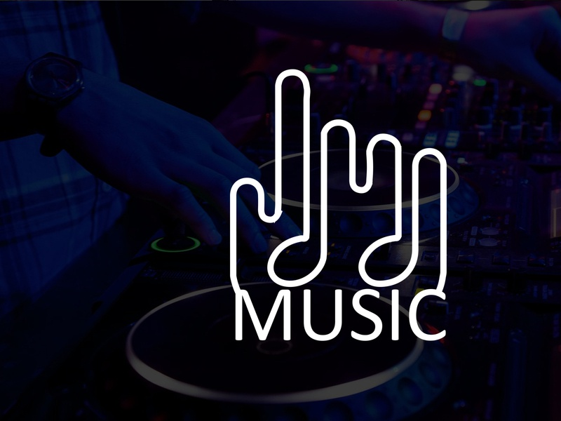 Modern Minimalist Business Logo Design | Music Logo Design companr brand logo brandinglogo companylogo vector businesslogo logo minimalist illustration design branding