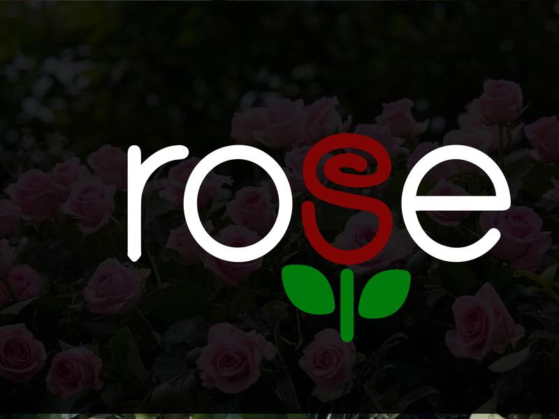 Modern Minimalist Business Logo Design | Red Rose Logo Design icon animation businesslogo companylogo vector minimalist logo illustration design branding