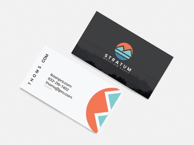 Mountain Business Card Design design vector concept print design illustration branding mountain bike mountain stationery professional print ready modern logo graphic elegant business card template