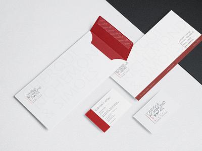 Papeterie branding print logo design