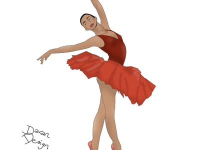 la danseuse en tutu