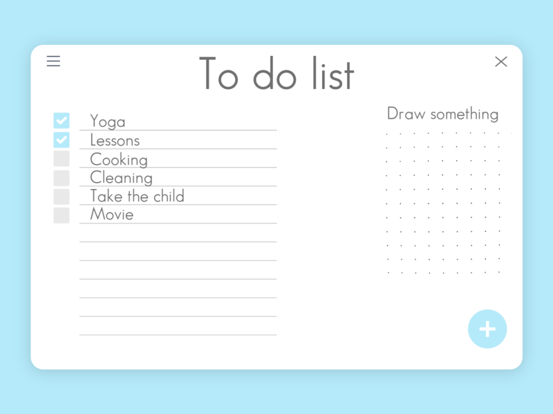 To Do List - Daily UI 042 daily ui 42 42 042 daily ui 042 to do app to do list