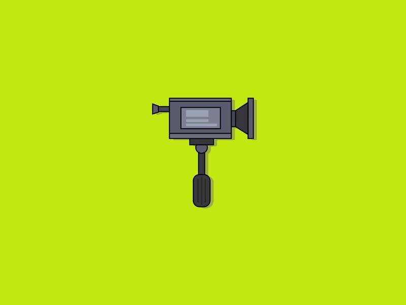 Camera vector illustration icon design