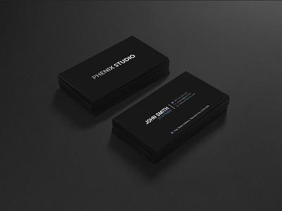 Spot UV Business Card Template @kchy