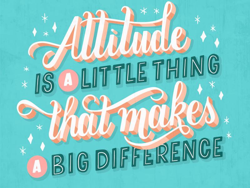 Positive Lettering freepik illustration art typography type lettering artist lettering art lettering illustration design art