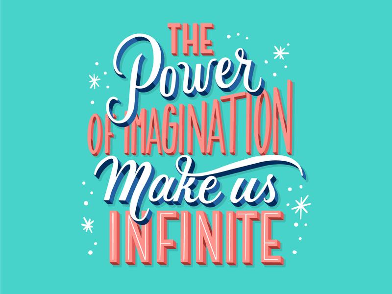 Positive Lettering illustration art freepik typography type lettering artist lettering art lettering illustration design art