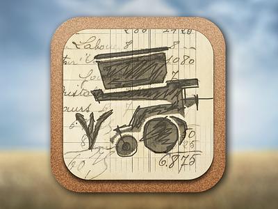 Quote iPad App ipad app icon agriculture farming