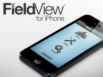 FieldView for iPhone fieldview iphone app mockup farming agriculture