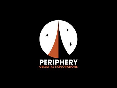 Periphery logo design space logo space graphic design branding logo design