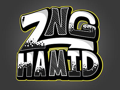 ZNG Hamid Logo design typography logo illustration logo z hamidreza zng hamid z zng hamid