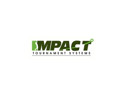 Impact Tournament Systems Logo logo design branding logo