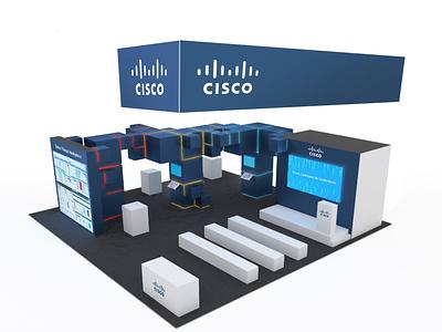 Cisco RSA Booth Concept booth design booth branding