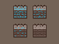 Soil Moisture Icons