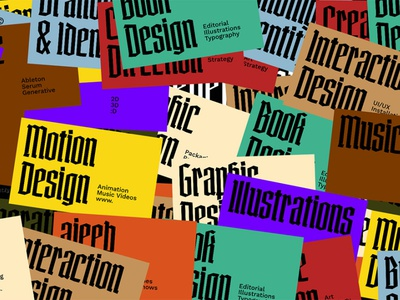 Ajeeb Portfolio Website illustration portfolio art direction web design typography graphic design interactive interaction design web interaction digital art