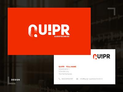 Quipr - Logo & Business Card design audio logo card business