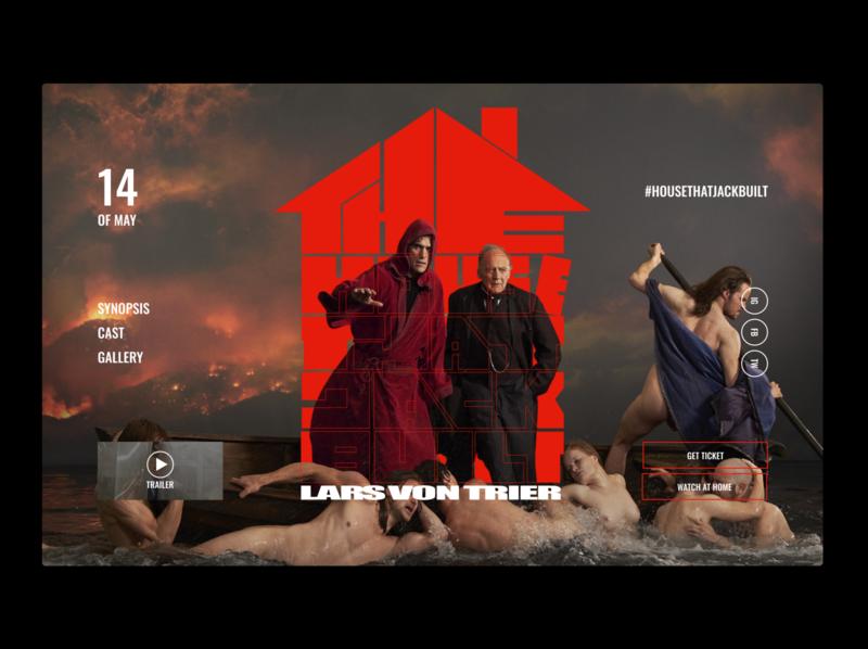 The House That Jack Built barque of dante lars von trier page movie design ui