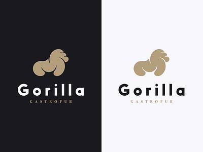 Gorilla | Gastropub brand logo design logo