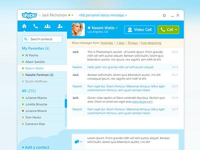 Skype chat window thumb