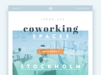 Online Magazine – Coworking Feature