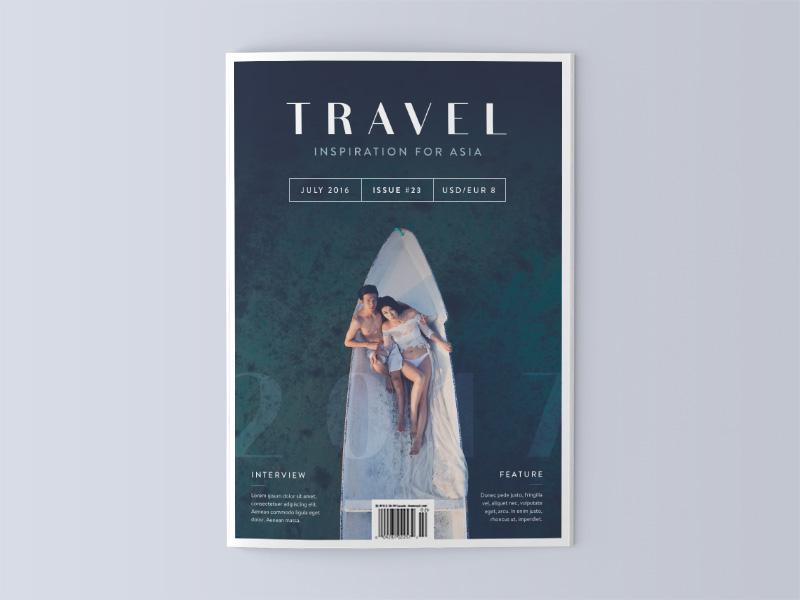 Travel Magazine Cover U2013 Asia Photography Inspiration Unsplash Photo  Typography Cover Editorial Design Magazine Travel