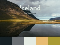 Color Scheme - Iceland, Westfjords