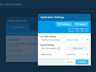 Application Settings – Inspired by Material Design settings button app interface ui modal window material design design material