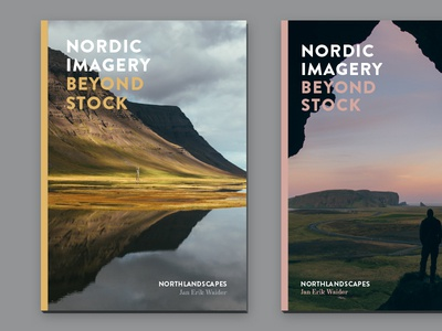 Image Brochure - Cover Ideas typography landscape iceland photography magazine print brochure image idea cover